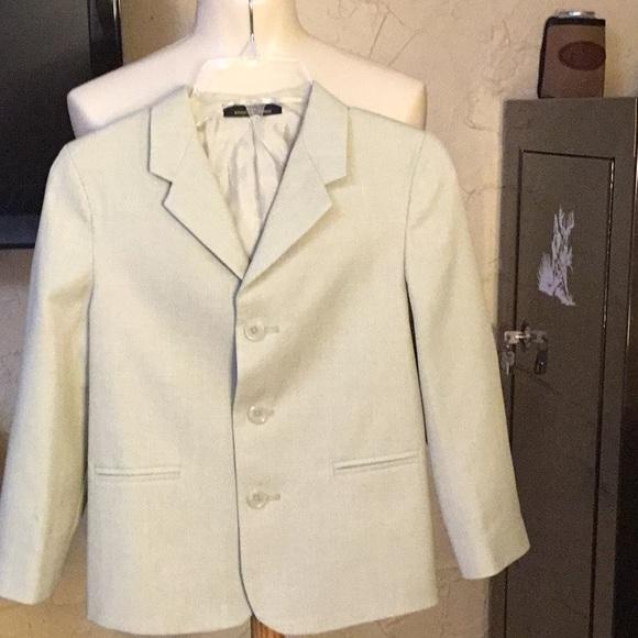 fcaaa675ef Little boys suit coat in stone color